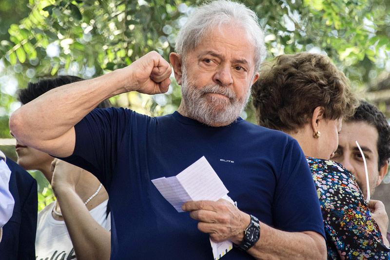 Der Ex-Staatschef Brasiliens, Luiz Inacio Lula da Silva