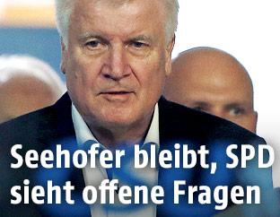Der deutsche Innenminister Horst Seehofer