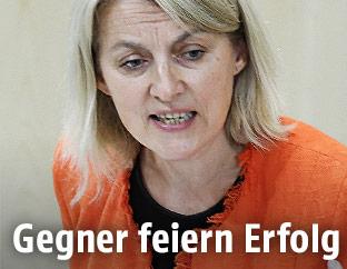 SPÖ-Delegationsleiterin im EU-Parlament Evelyn Regner