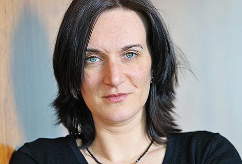 Die deutsch-ungarische Schriftstellerin Terezia Mora