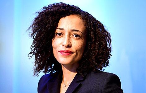 Die britische Autorin Zadie Smith