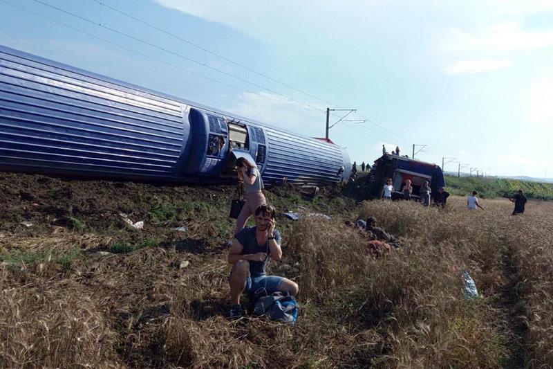 Zugsunglück in der Türkei