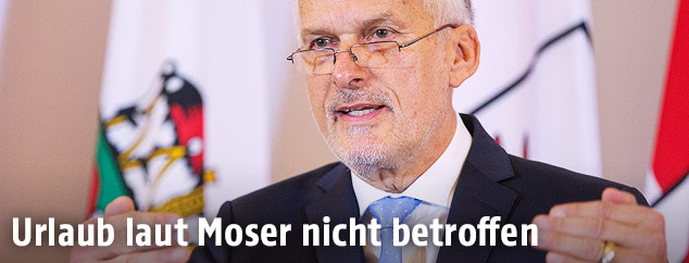 Justizminister Josef Moser