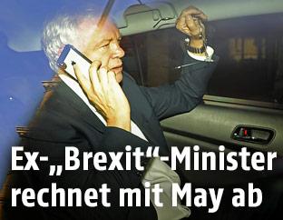 """Britischer """"Brexit""""-Minister David Davis"""