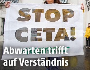 CETA-Plakat