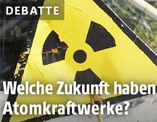 Atomkraft-Schild
