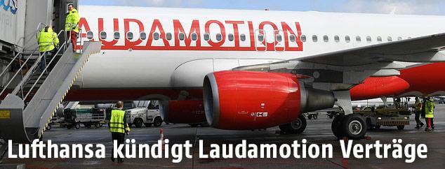Laudamotion-Maschine