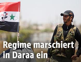 Syrischer Soldat