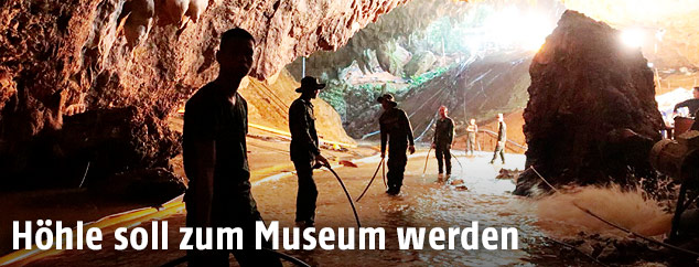 Höhle in Thailand