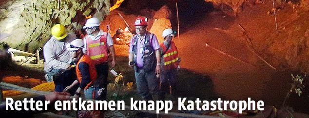 Rettungsarbeiter