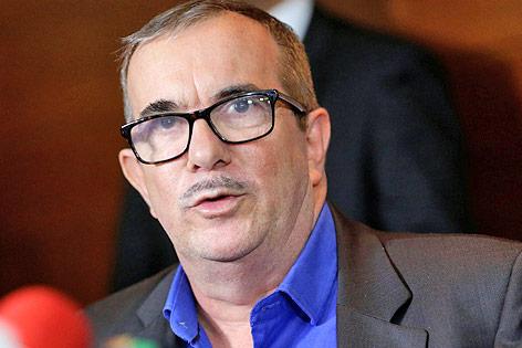 """Der ehemalige FARC-Rebellenchef Rodrigo """"Timoschenko"""" Londono"""