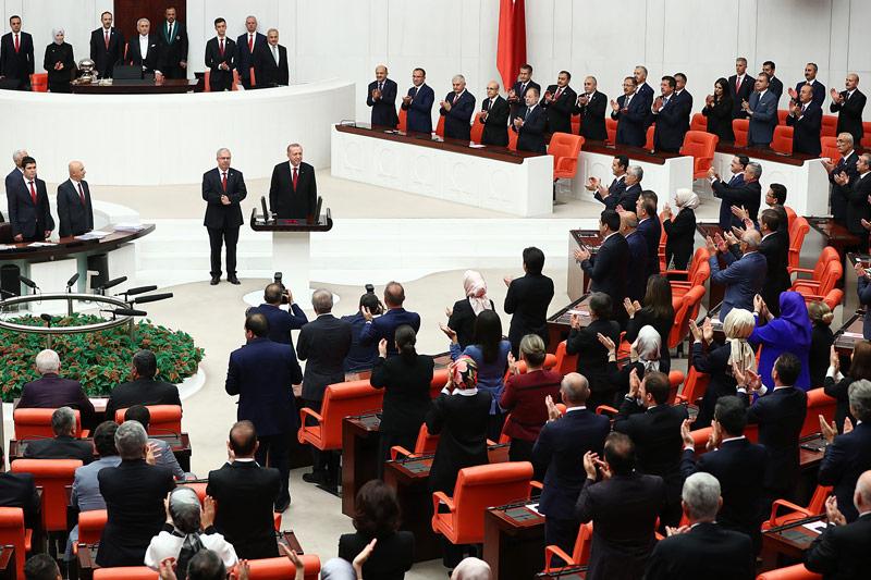 Türkischer Präsident Tayyip Erdogan