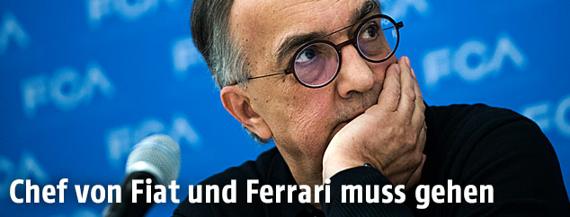 Fiat-Chrysler-Chef Sergio Marchionne