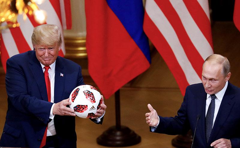 US-Präsident Donald Trump und Russlands Präsident Vladimir Putin