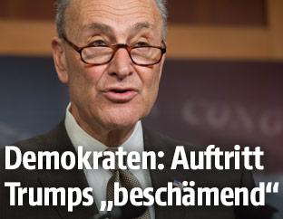 Der Oppositionsführer im US-Senat, Chuck Schumer