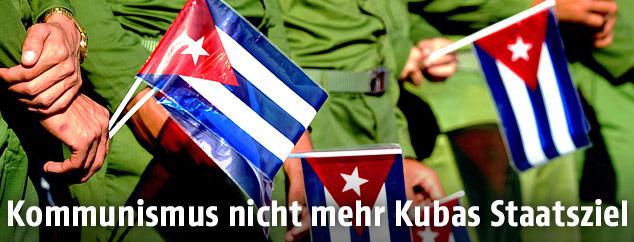 Kubanische Fahnen