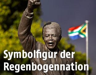 Statue von Nelson Mandela