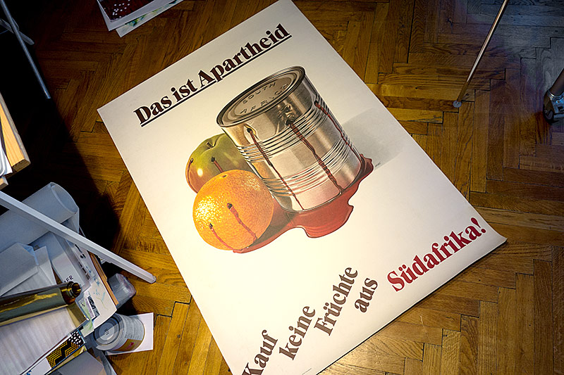 Anti-Apartheid-Plakat