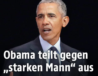 Ex-US-Präsident Barack Obama