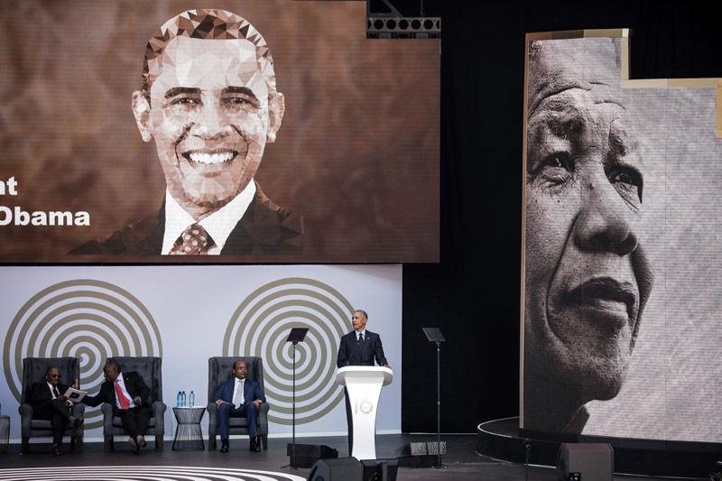 Obamas Rede in Johannesburg