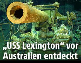 Wrack der USS Lexington