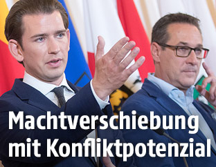Sebastian Kurz und Heinz Christian Strache