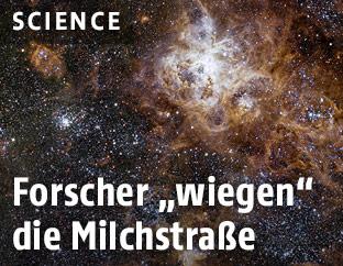 Galaxie in der Milchstraße