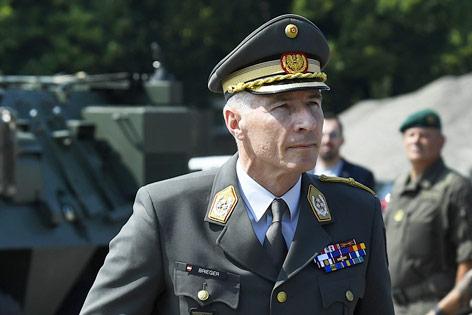 Robert Brieger als neuer Generalstabschef vorgestellt