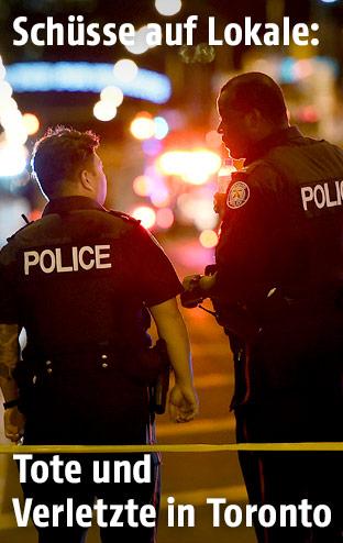 Polizei in Toronto