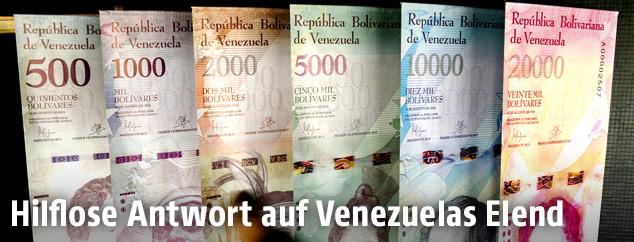 Der Venezolanische Bolivar