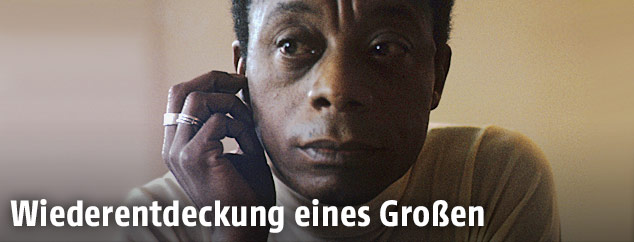 James Baldwin (1924-1987), hier auf einer Aufnahme vom Jänner 1972