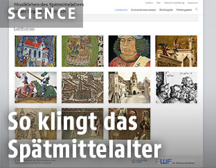 Screenshot der Website www.musical-life.net