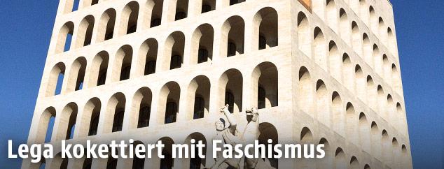 Der Palazzo della Civilta Italiana in Rom