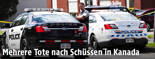 Polizist in Kanada