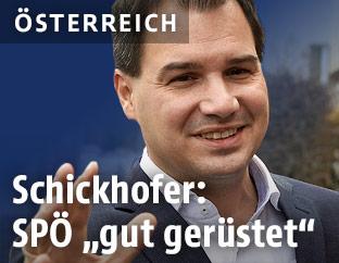 Landeshauptmann-Stellvertreter Michael Schickhofervor