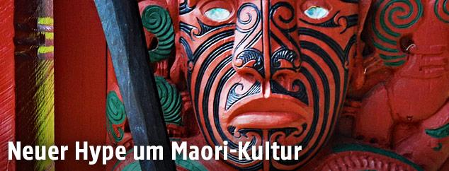 Neuseeländische Maske
