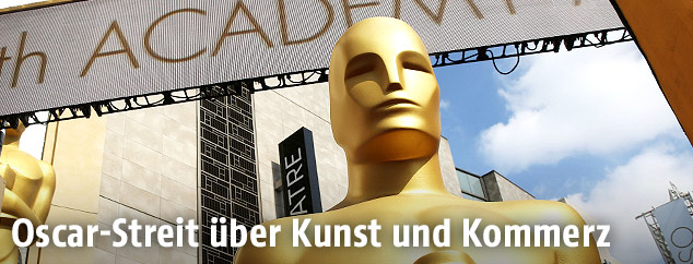 Oscar Statue bei den Academy Awards