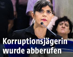 Korruptionsbekämpferin Laura Codruta Kövesi