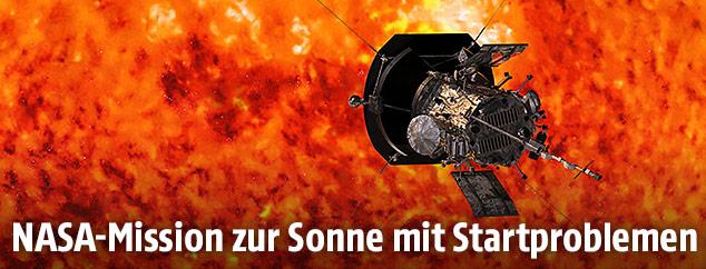 """Die NASA-Sonde """"Parker Solar Probe"""""""