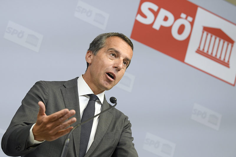 SPÖ-Vorsitzender Christian Kern