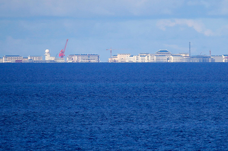 Militäranlagen auf den Spratrly-Inseln