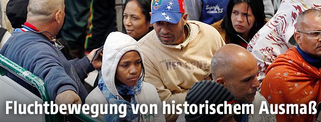 Venezolaner auf der Flucht