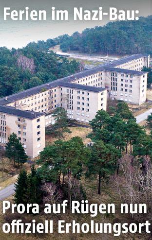 Nazi-Bau auf Prora