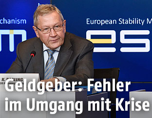 Klaus Regling, Chef des Euro-Rettungsfonds ESM