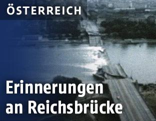 Zerstörte Reichsbrücke