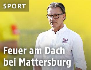 Mattersburg-Trainer Gerald Baumgartner