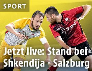 Mevlan Adili (Shkendija) gegen Andreas Ulmer (Salzburg)