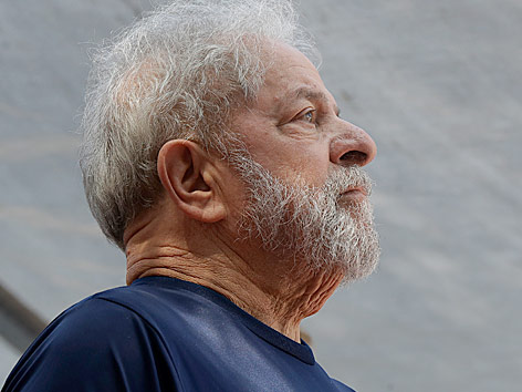 Der ehemalige brasilianische Präsident Luiz Inacio Lula da Silva