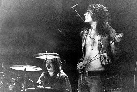Robert Plant, Leadsänger der Rockgruppe Led Zeppelin 1970