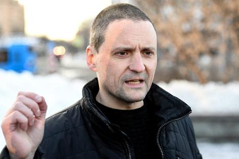 Kreml-Kritiker Sergej Udalzow